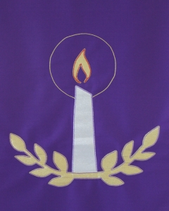 Purple Pulpit Cloth