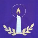 Purple Pulpit Cloth